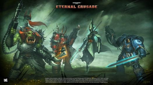 Initial race choices in Eternal Crusade
