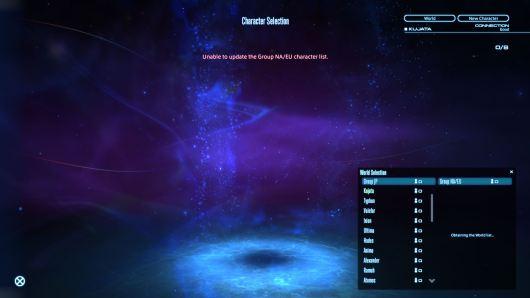 FFXIV NA/EU Unable to Update
